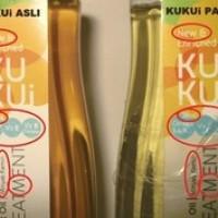 TERMURAH DISINI - Kukui - Kukui Oil Original - Minyak Kemiri Kukui ( ORIGINAL VERSION ) = palsu bayar 3 x lipat