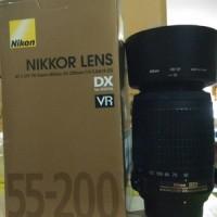 LENSA TELE NIKON 55-200MM F/4-5.6 ED VR