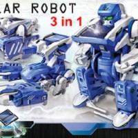 Robot 3in 1 Transformer / Solar Robot 3 in 1 / Edukasi Merakit Robot / Kits Robot Solar / Robot Kits / Mainan Edukasi Robotik