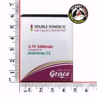 Batere/Batrei/Baterai Smartfren Andromax-C2 Grace 3200mAh Double Power