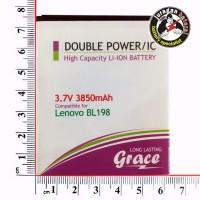 Batere / Batrei / Baterai GRACE BL198 - Lenovo S880,S890 Double Power
