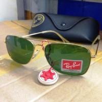 Kacamata Rayban Caravan 3136 Lensa Kaca