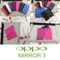 Flip Cover Case Oppo Mirror 3