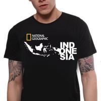 "KAOS NATGEO ""INDONESIA"" KEREN"