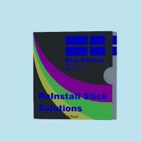 ReInstall Stick Solutions Blue Edition