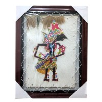 harga Kerajinan Lukisan Wayang Kulit Prabu Kresna Kulit Kambing - 34x44 cm Tokopedia.com