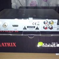 Set Top Box Matrix DVB-T2 Apple - Full HD 1080p Digital TV Receiver