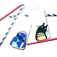 Casing HP UNIK Lazy Case  stitch / totoro Iphone 4/4s/5/5s/6 S4/S5