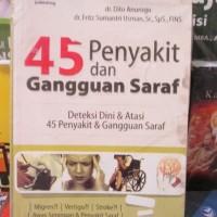 harga 45 Penyakit Dan Gangguan Syaraf Tokopedia.com