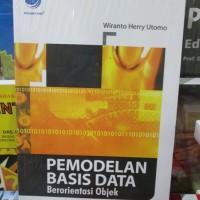 harga Pemodelan Basis Data Berorientasi Objek Tokopedia.com