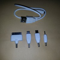harga Kabel Konektor Charger Powerbank PB 4 in 1 Power Bank Murah Tokopedia.com