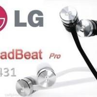 Earphone Original LG QuadBeat Pro LE431 Black Edition