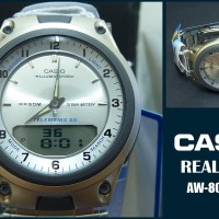 jam tangan casio original garansi resmi 1 tahun [AW 80D 7AV] ayotaya