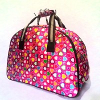 TAS TRAVEL / TRAVELBAG / TRAVEL BAG LOVELY PINK