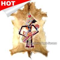 harga Lukisan Wayang Prabu Kresna Kulit Kambing Full Body 77x55cm Tokopedia.com