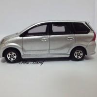 Diecast Miniatur Replika Toyota Avanza Veloz abu2 silver Metalic