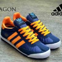 harga adidas dragon men navy orange Tokopedia.com