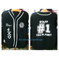 harga Baseball Jersey EXO -EXO STAFF #1 Tokopedia.com