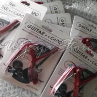 harga Capo Gitar Murah Warna Merah ( Untuk Gitar Strings,elektrik,bass ) Tokopedia.com