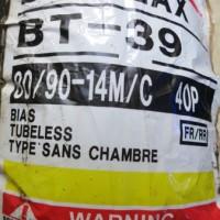 harga Ban Depan/belakang Bridgestone Battlax 80/90-14 Bt39 Racing Tubeless Tokopedia.com