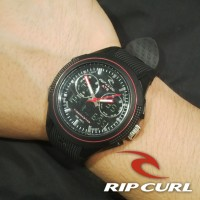 Ripcurl Tide Master Rubber Full Hitam Merah