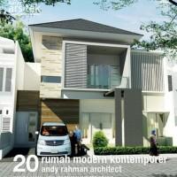 Seri Karya Arsitek: 20 Rumah Modern Kontemporer Andy Rahman - W143