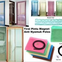 ... Magic Mesh Magnetic Curtain Tirai Gorden Pintu Magnet Anti Nyamuk Unik