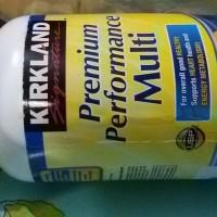 kirkland multi vitamin premium performance 300 tablets harga hemat