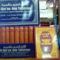 Tafsir dan Terjemahan Al Quran Departemen Agama 1O Jilid Lux