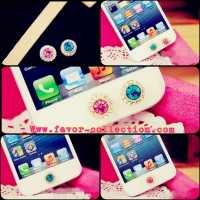Gemstone Home Button Iphone / Pencetan Tombol / Homebutton