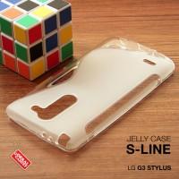 LG G3 Stylus Soft Gel Jelly Silicon Silikon TPU Case Softcase Clear