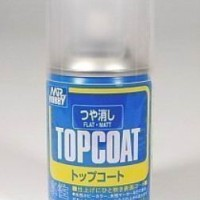 Mr Hobby Top Coat Flat(matt) for mokit/gundam