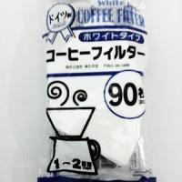 Coffee Filter Cf-01 90 Bleached White / Kopi Filter
