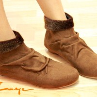 harga Sepatu Boot Korea Boots Wanita Coklat Brown Kulit Onyx Bulu Shoes Tan Tokopedia.com