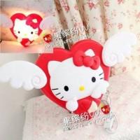 Lampu Dinding - Hello Kitty Angel - Merah