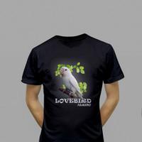 harga Kaos Burung Lovebird Albino Tokopedia.com