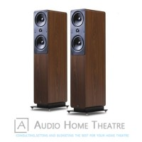 Q Acoustics 2050i Floorstanding Speaker Pair Walnut