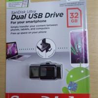 SanDisk Ultra Dual USB Drive 32GB 2.0