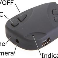 Spycam Car Key / Kamera Pengintai Model Gantungan Kunci Mobil