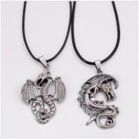 Couple's Necklace (Kalung Pasangan) Pair of Dragon