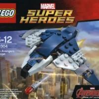 lego superheroes 30304 the avengers quinjet