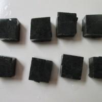Rough/Bongkahan Bahan Batu Giok Black jade Aceh (RGBJ)