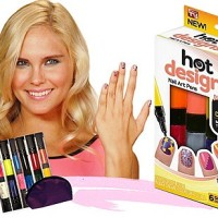Hias Kuku Anda dgn HOT DESIGN NAIL ART (Kutex  Kuas  Art Pen) 6 warna