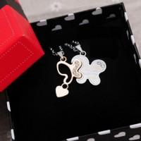 Couple's Necklace (Kalung Pasangan) Butterflies