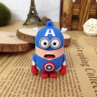 USB UNIK MINION CAPTAIN AMERICA