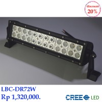 LED Bar 72 Watt LBC-DR72W CREE Lampu Sorot.