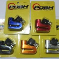 Cakram Gembok Kunci Disk Cakram Motor Merk Posh Racing