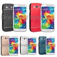 Galaxy S3 9300 Motomo Brushed metal back case
