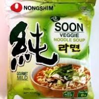 SOON veggie Ramyeon (korean ramen)