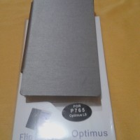 Flip Cover For Optimus Lg L9 P765 Silver